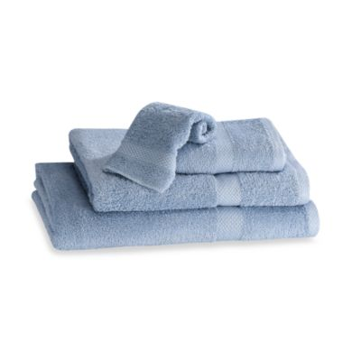 Simply Soft Hand Towel in Blue