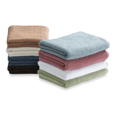 Cotton Black and White Bath Towels