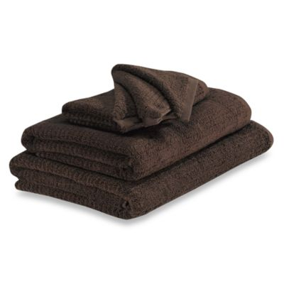 Dri Soft Hand Towel in Brown