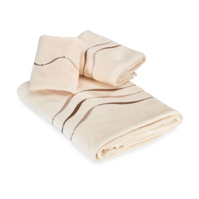 Croscill® Dante Fingertip Towel in Champagne