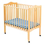 Delta Children's Portable Crib in Natural