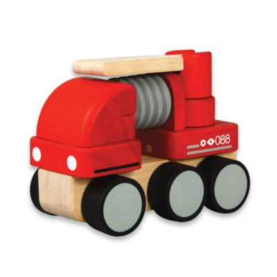 Plan Toys® Mini Fire Engine - from PlanToys