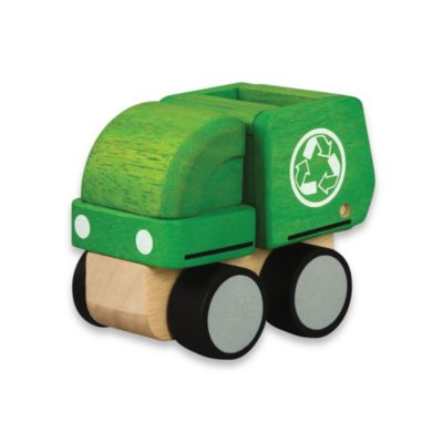 Plan Toys® Mini Garbage Truck