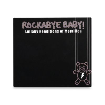 Rockabye Baby! Rock N' Roll Lullaby Renditions CDs > Rockabye Baby! Lullaby Renditions of Metallica CD