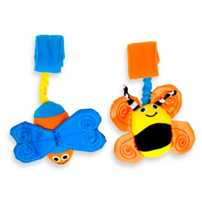 Sassy® Bugs on Board (Set of 2)