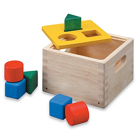 Plan Toys® Shape and Sort It Out