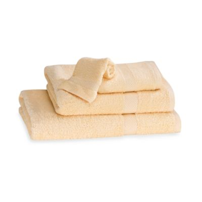 Simply Soft Bath Towel in Yellow