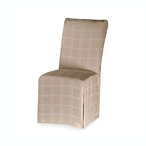 Origins™ Microfiber Dining Room Chair Cover in Beige