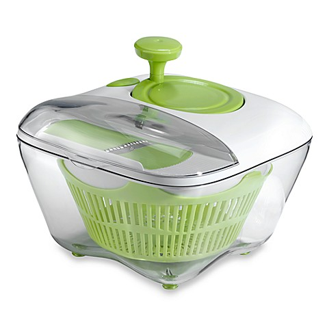 Slice 'n Spin Salad Spinner with Built-in Mandolin
