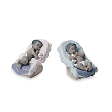 Nao® Treasured Memories Dream Little Baby Porcelain Figurines - African American