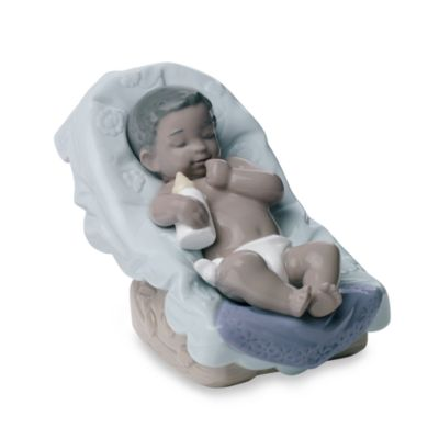 Nao® by Lladro Treasured Memories Dream African American Little Boy Porcelain Figurine