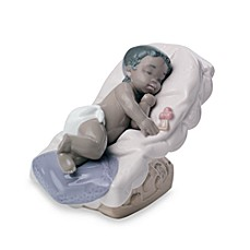 Nao® Treasured Memories Dream Little Girl Porcelain African American Figurine