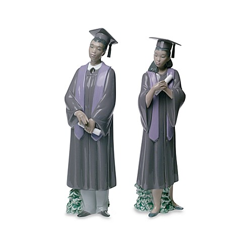 Nao® Treasured Memories Graduation Porcelain Figurines - African American