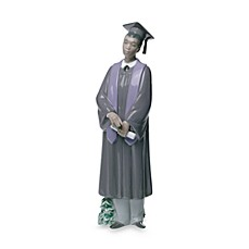 Nao® Treasured Memories Graduate Celebration Porcelain African American Male Figurine