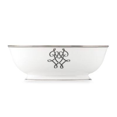 Lenox® Scripted Platinum 9 1/2-Inch Vegetable Bowl