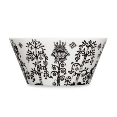 Taika Serving Bowl in Black