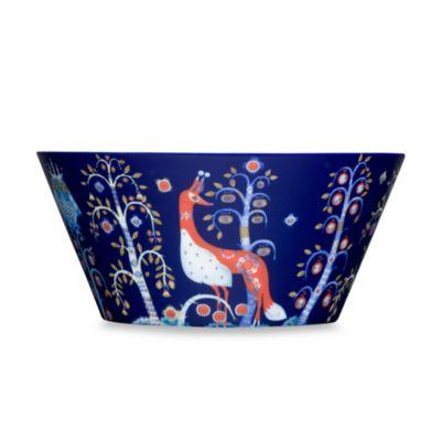 Iittala Taika Serving Bowl in Blue