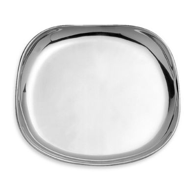 Wilton Armetale Boston Metal 13-Inch Large Square Tray