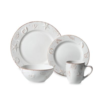 Thomson Pottery Hampton 16-Piece Stoneware Dinnerware Set
