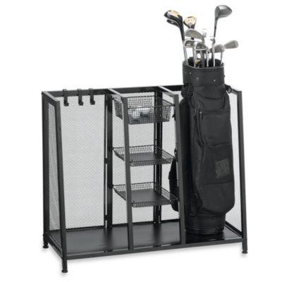 Golf Bag Organizer for Garage