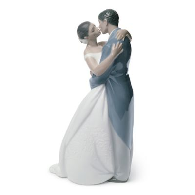 Nao® by Lladro Treasured Memories A Kiss Forever Porcelain African American Figure