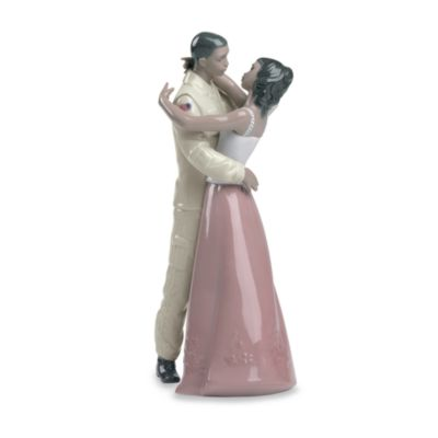 Nao® by Lladro Treasured Memories Welcome Home Porcelain Figure in African American