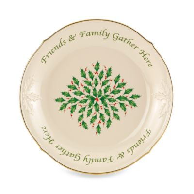 Lenox® Holiday™ Sentiment Dessert Platter