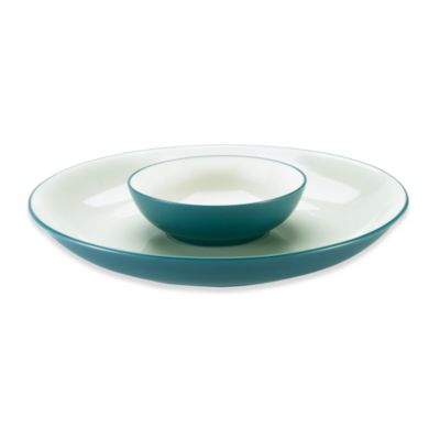 Noritake® Colorwave Blue Chip & Dip by Noritake