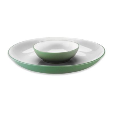 Colorwave Green Chip & Dip by Noritake
