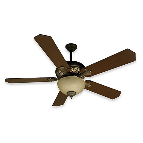 Design Trends Mia Ceiling Fan in Aged Bronze