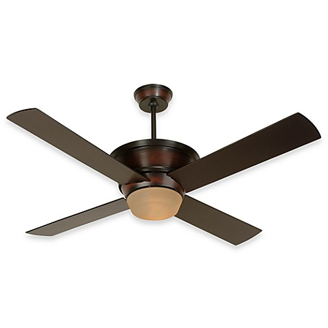 Design Trends Kira Ceiling Fan in Oiled Bronze
