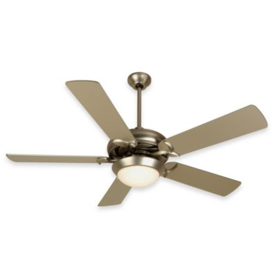 Design Trends Cosmos Ceiling Fan in Brushed Nickel