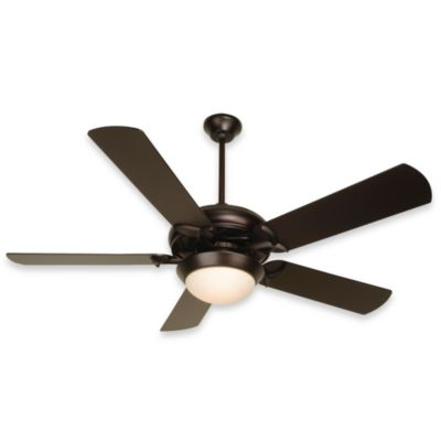 Design Trends Cosmos Ceiling Fan in Oiled Bronze