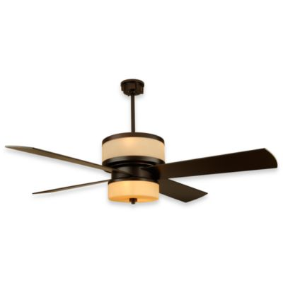 Design Trends Midoro Ceiling Fan in Oiled Bronze