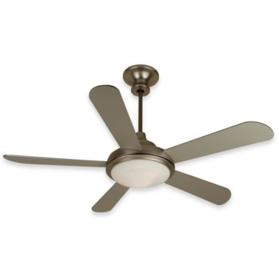 Design Trends Triumph Ceiling Fan in Brushed Nickel