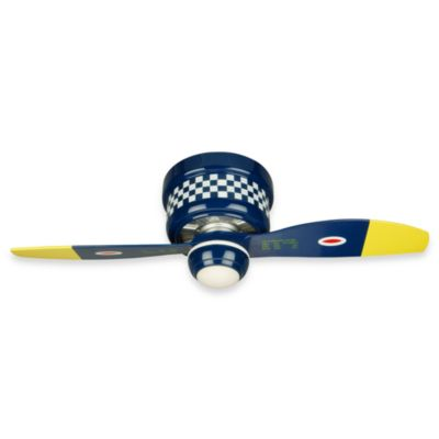Design Trends Black Sheep Navy War Plane Ceiling Fan