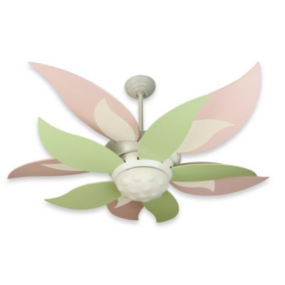 Leaf Ceiling Fan with Light