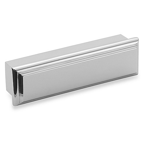 Amerock® Manor 3-Inch Cup Cabinet Drawer Pull in Chrome