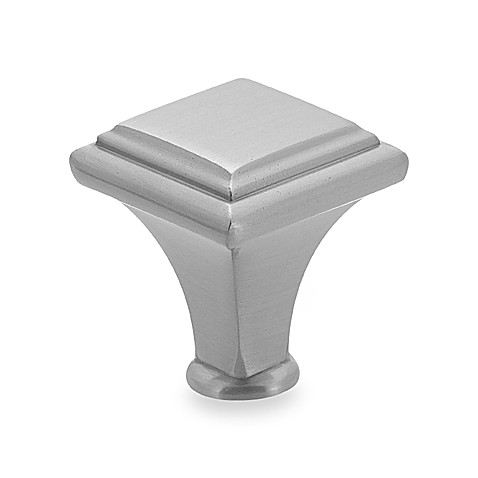 "Manor 1"" Raised Cabinet Drawer Knob by Amerock - Chrome"