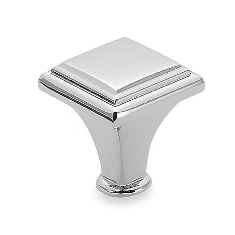 Amerock® Manor 1-Inch Raised Cabinet Drawer Knob in Chrome