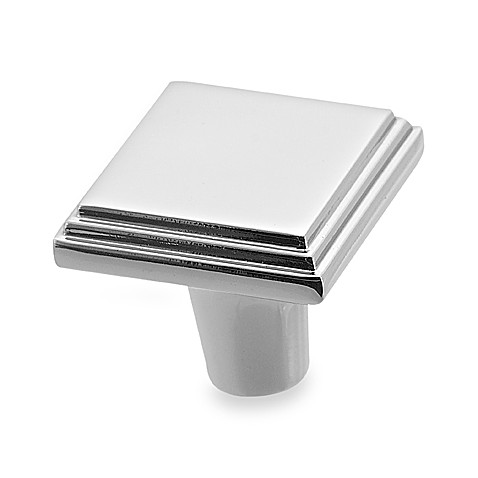Amerock® Manor 1-Inch Chrome Cabinet Drawer Knob