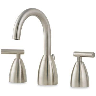 "Price Pfister® Contempra 8"" Widespread Faucet in Nickel"