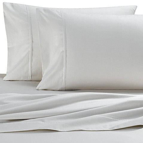 Barbara Barry®Tranquil Oval Bisque Sheet Set
