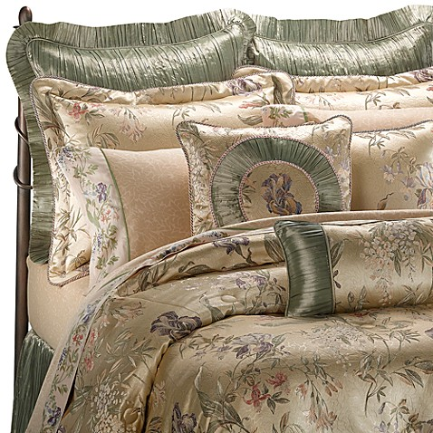 Croscill 174 Comforter Set In Iris Bed Bath Amp Beyond