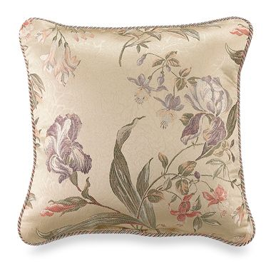 Croscill® 18-Inch Square Throw Pillow in Iris