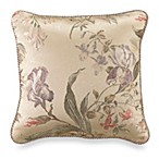 Iris 18-Inch Square Toss Pillow