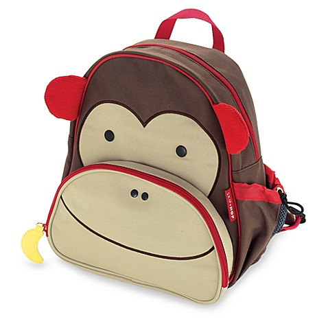 SKIP*HOP® Zoo Packs Little Kid Backpacks in Monkey