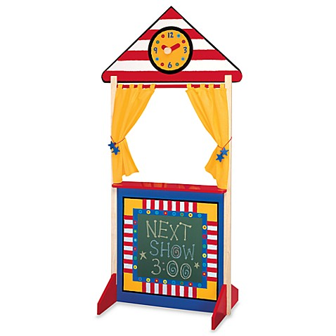 ALEX® Floor Standing Puppet Theater with Clock