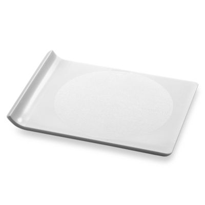 Preserve® Small Plastic Cutting Board in Milk White