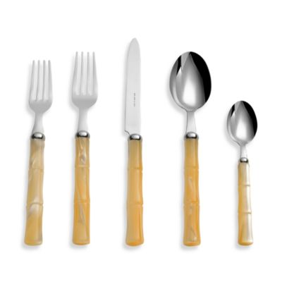 Buy Flatware with Colored Handles from Bed Bath & Beyond
